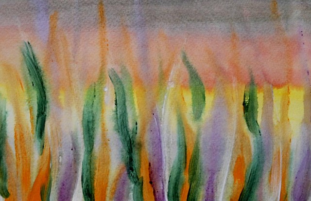 abstract, watercolour