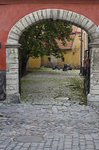 Baltics, Estonia, Tallin, Architecture