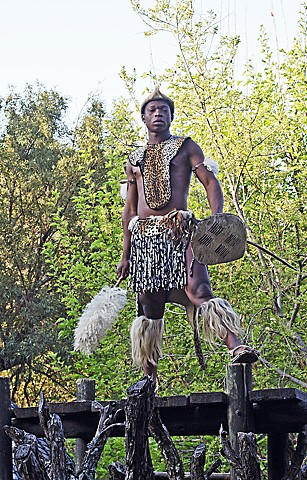 South Africa, traditional, watchman