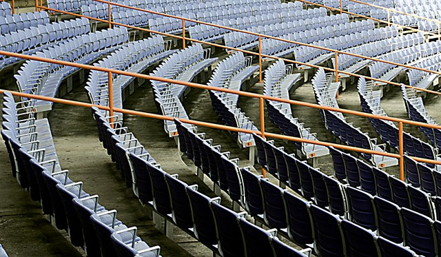 Stadium, chairs, Dominican Republic, Los Toros