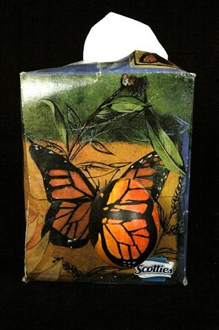 pysanky series: tissue box