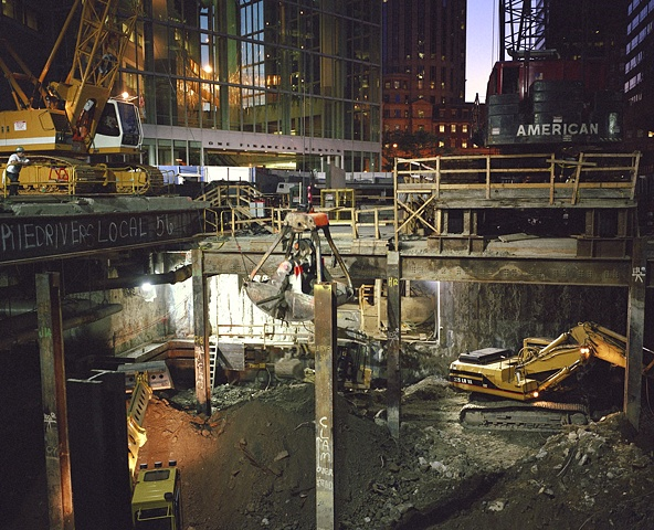 NIGHT EXCAVATION 1999
