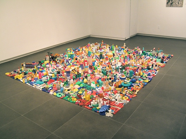 City, installation view
