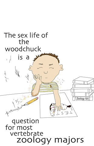 Sex Life of the Woodchuck