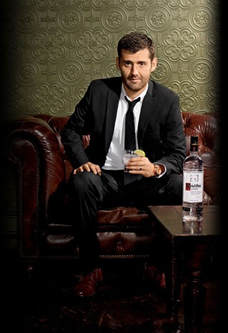 Ketel One Vodka's Chicago Modern Hispanic Gentlemen. Chicago Fire defender Gonzalo Segares, shot by Lisa Predko.