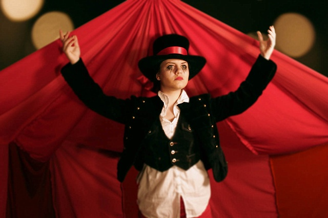 A One Woman Circus Act