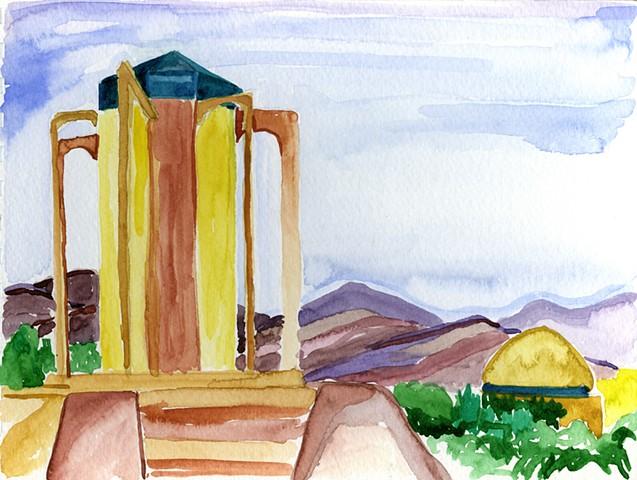 Tomb of Baba Taher, Hamedan