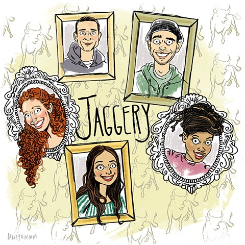 illo of Jaggery! for Sessions from the Box