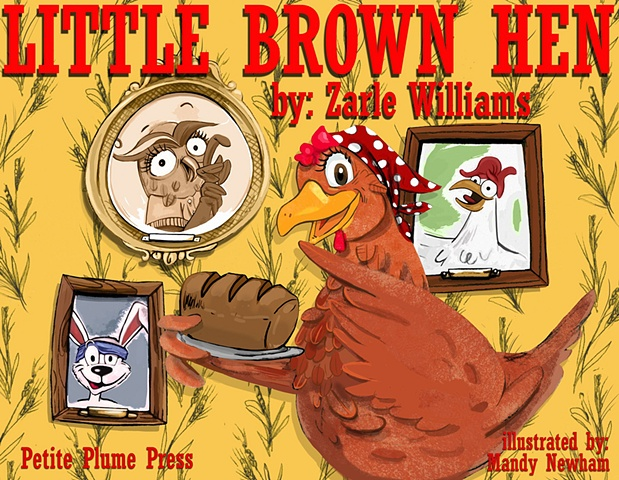 "cover for ""Little Brown Hen"""