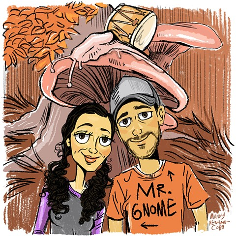 illo of Mr. Gnome! for Sessions from the Box