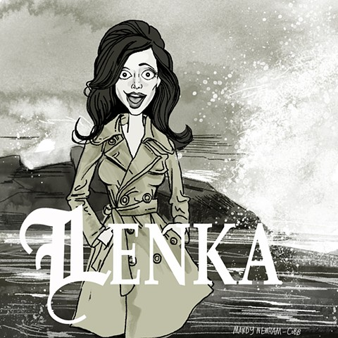 "illustration of ""Lenka!"" for Sessions from the Box"