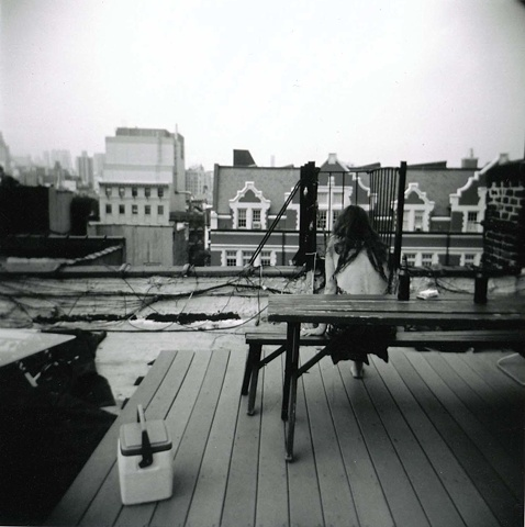 Serena on her Rooftop no.1, New York