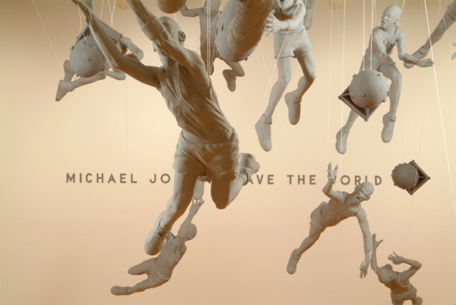 Michael Jordan, Save The World (installation view)