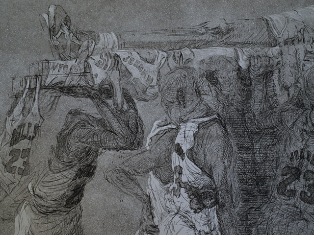 The Funeral (detail)