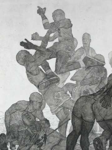 The Fight (detail)