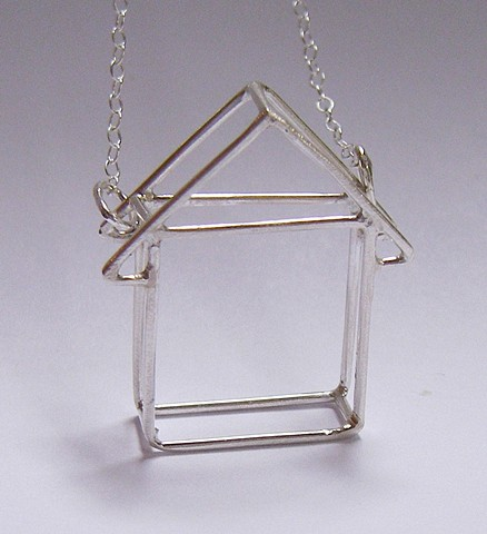 Stick House Necklace