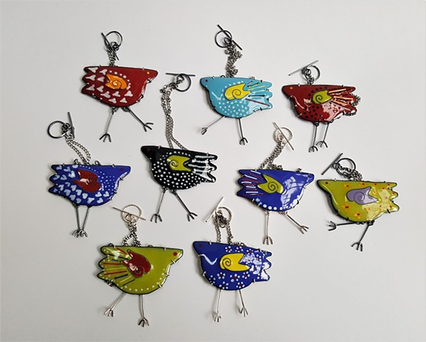 Urban Chicken Necklaces