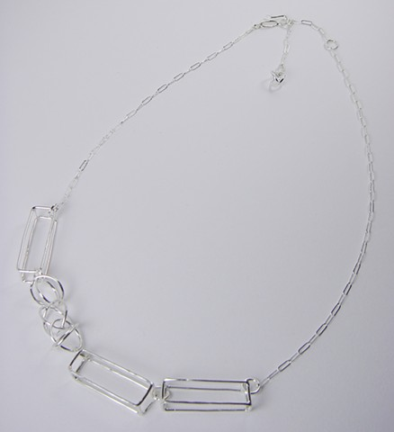 Asymetrical Forms Necklace