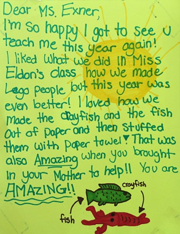 Fish Story | Harry Balfour School Grande Prairie, AB