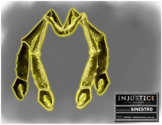Sinestro Contruct: Arachnid Claw
