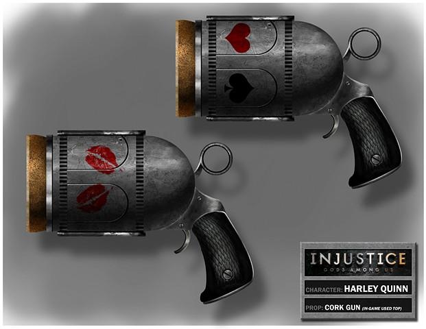 Harley Quinn's Cork Gun variation 1