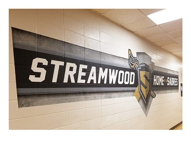 Streamwood Mural - Section 6 Left View