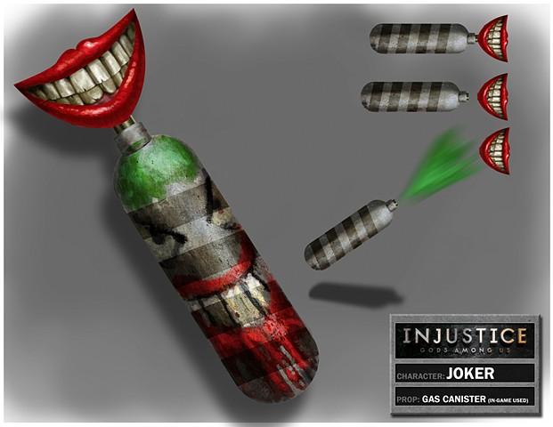 Joker's Gas Canister