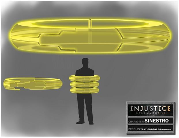 Sinestro Construct: Binding Ring