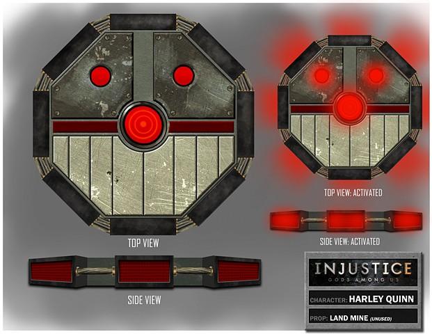 Harley Quinn's Landmine Variation 1
