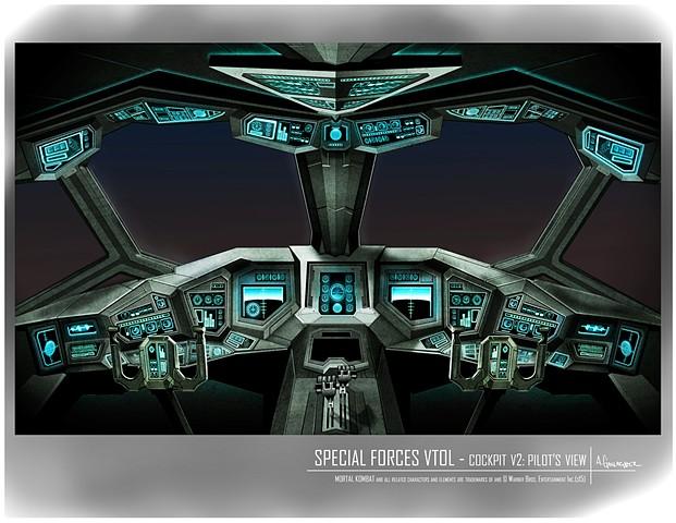 VTOL  Environment Concept: Cockpit