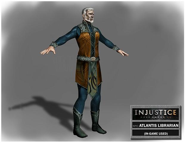NPC: Atlantis Librarian