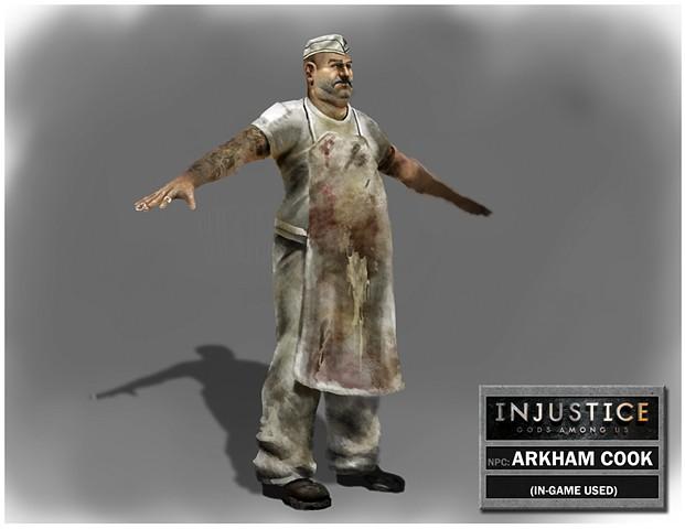 NPC: Arkham Cook