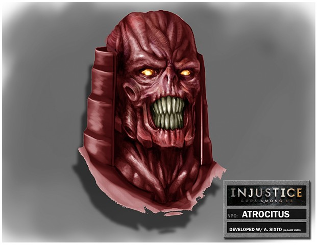 NPC: Atrocitus Head Shot