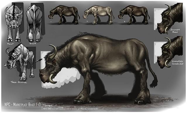 NPC - Market Place Beast 1 Creature Concept