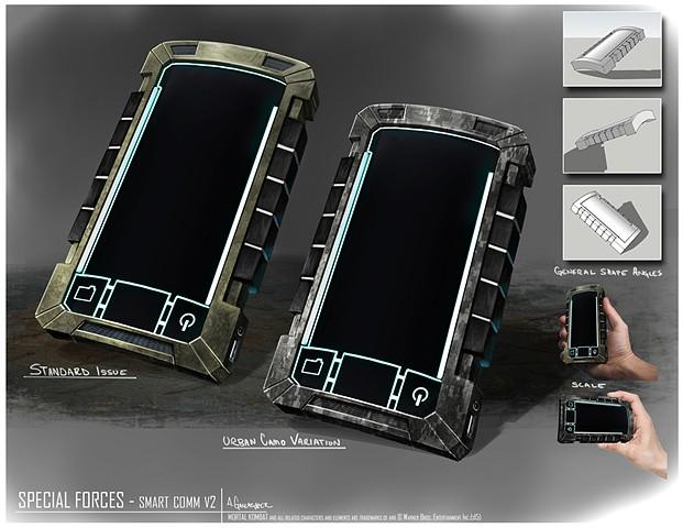 Special Forces Prop Concept: Smart Comm