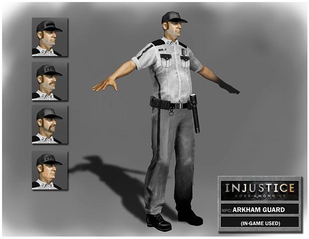 NPC: Arkham Guard
