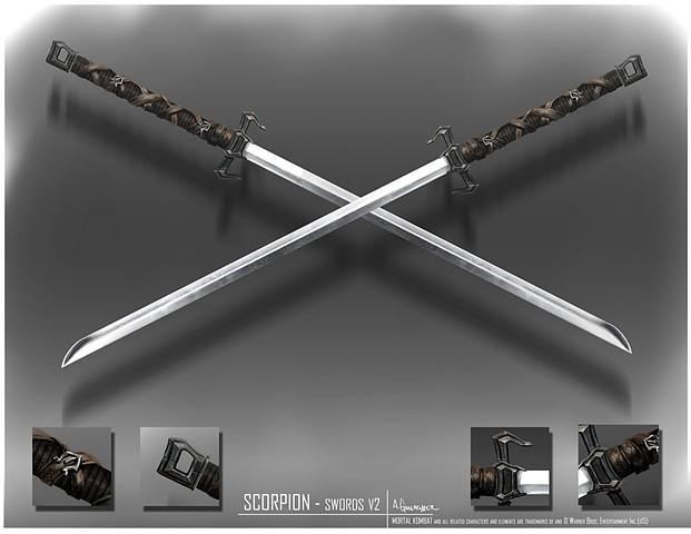 Scorpion  Prop Concept: Swords