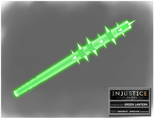 Green Lantern Construct: Spiked Bat