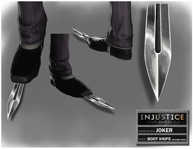 Joker's Boot Knife