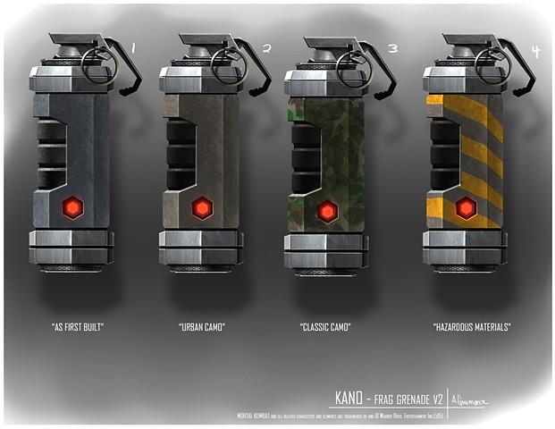 Kano Prop Concept: Frag Grenade