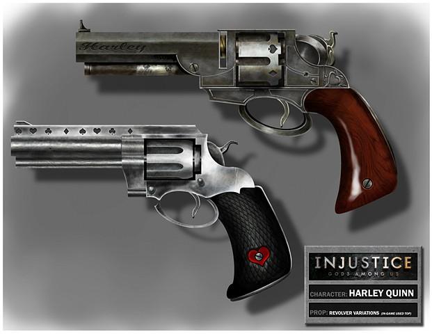 Harley Quinn's Revolver Variations