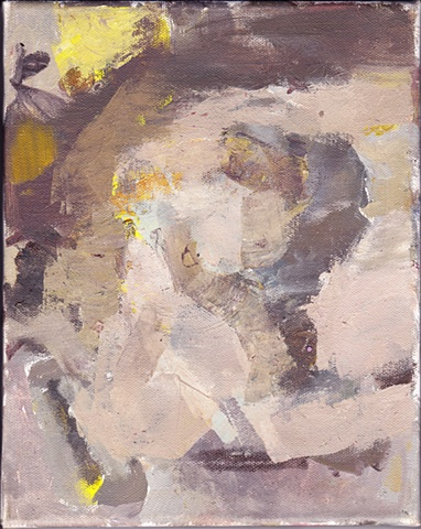 untitled (torso with yellow)