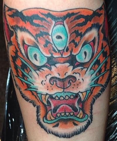 3rd Eye Tiger