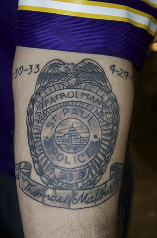 Saint Paul Police Badge