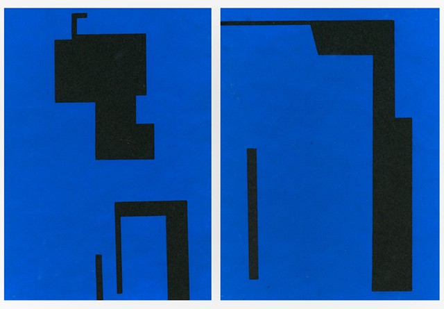 Blue on Black (from Void series)
