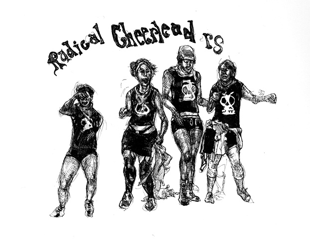 Radical Cheerleaders!