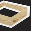 Box in White