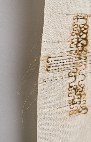 Hair Ikat Series B detail