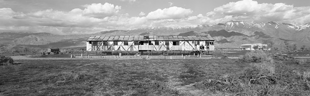 Barracks Building Restoration  Manzanar National Historic Site California