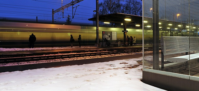 Commuters, Gumligen Station